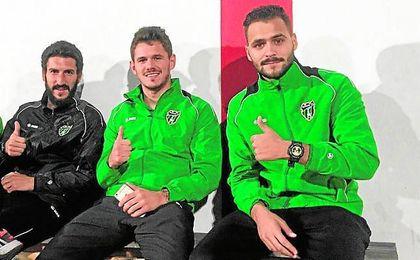 Morales (centro), el pasado año en el Europa.