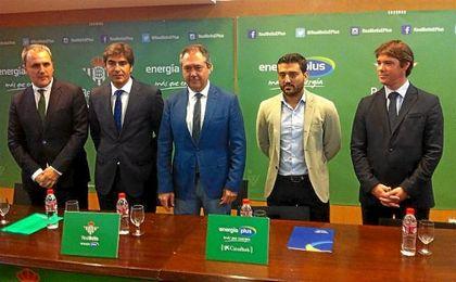 As� fue la presentaci�n del nuevo Real Betis Energ�a Plus