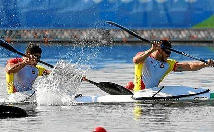Craviotto y Toro, campeones olímpicos de K-2 200.