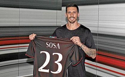 """Jos� Sosa: """"Lo m�s importante es llevar el Milan a Europa"""""""