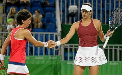 Carla Suárez y Garbiñe Muguruza buscarán un puesto en la semifinal del torneo de EE.UU..