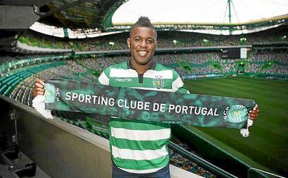Joel Campbell, cedido al Sporting de Lisboa.