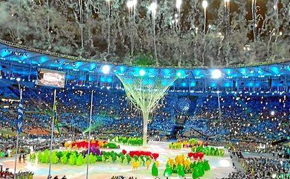 El Estadio de Maracaná acogió la Ceremonia de Clausura de Río 2016.