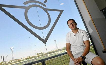 Jos� Juan Romero, durante la entrevista a ESTADIO Deportivo.
