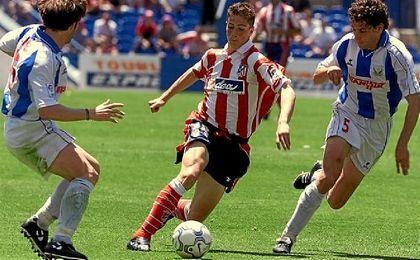 Atlético de Madrid y Leganés ya se vieron las caras en Segunda División.