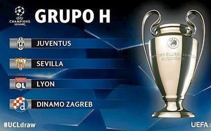 Conoce las fechas oficiales de los partidos del Sevilla en Champions