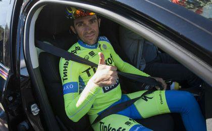 Contador tomará hoy la salida.