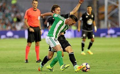El ex del Twente fue mejorando sus prestaciones a medida que avanzaba el duelo.