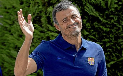 Luis Enrique teme el potencial del Athletic en San Mamés.