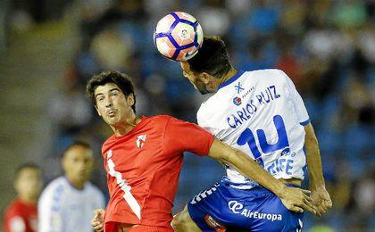 El Sevilla Atl�tico logr� un valioso punto en Tenerife.
