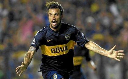 El italo-argentino est� sin contrato desde que dej� Boca hace tres meses.