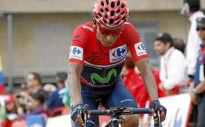 Nairo Quintana casi sentencia la Vuelta.