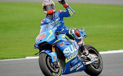 Viñales logra su primer triunfo en MotoGP