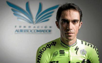 """Contador busca disfrutar el """"día a día"""" de la Vuelta."""