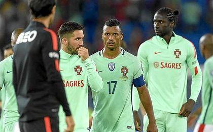 Portugal comenzó perdiendo la fase de clasificación.