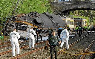 Identificados los 4 muertos: el maquinista, un turista americano, el interventor de Renfe y un joven de Vigo