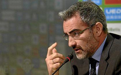 Eduardo Macià, durante su etapa en el Betis.