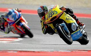 Baldassarri se estrena en Moto2 y Rins recorta puntos a Zarco
