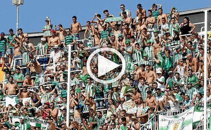 El Betis no se sinti� solo en Mestalla