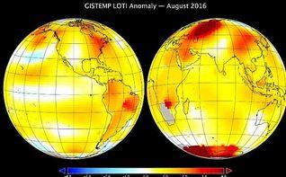 Agosto ha sido el mes m�s caluroso en la Tierra desde que hay registros