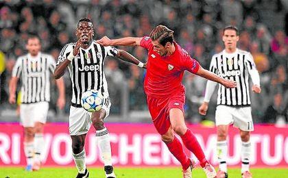 Imagen de la Juventus-Sevilla del curso pasado.