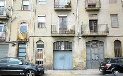Calle Jorbetes de Manresa, donde ha sido detenido el presunto yihadista.