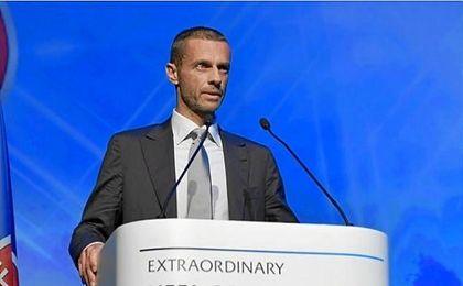 Ceferin, nuevo presidente de la UEFA.