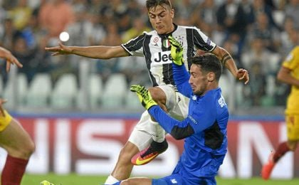 Sergio Rico, en el Juventus Stadium.