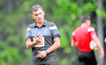 El técnico armero comentó los efectos positivos de la victoria a última hora frente al Granada.