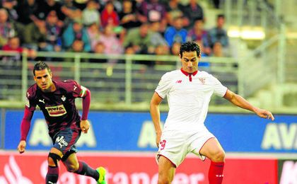 Ganso va adaptándose poco a poco al Sevilla FC.