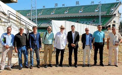 Continúan las obras en el Villamarín.