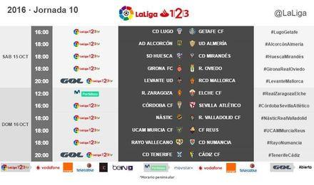 Descubre los horarios de la 10º jornada para el Sevilla Atlético