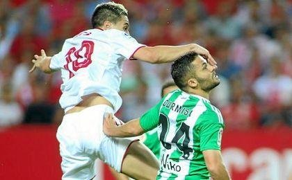 Durmisi ingresó en el hospital tras el encuentro ante el Sevilla.