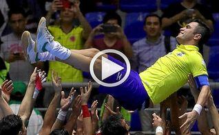 Brasil, eliminada, despide a su leyenda Falcao