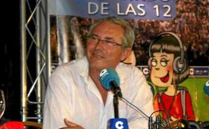 Pérez Sánchez colaboraba en distintos programas radiofónicos.
