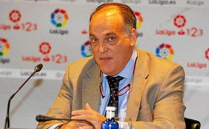 Javier Tebas se presentará de nuevo tras haber presentado su dimisión.