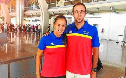 María Pujol y Miguel Ángel Fidalgo, la representación española en el Campeonato del Mundo de EE. UU.