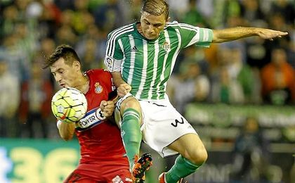La temporada pasada, el Betis cayó 1-3 ante el Espanyol en el Villamarín.