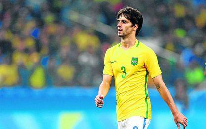 Rodrigo Caio gan� el oro ol�mpico con Brasil en los Juegos de R�o.