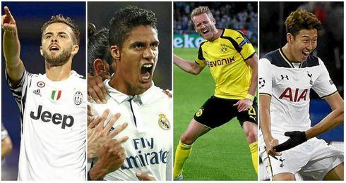 El Madrid sigue sin ganar en Dortmund; emergen Juventus y Tottenham.