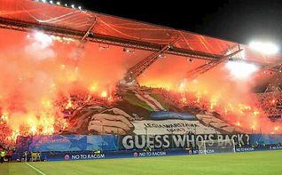 UEFA obliga a Legia Varsovia a jugar a puerta cerrada contra Real Madrid