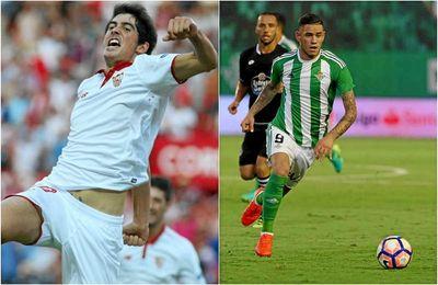 El sevillista Carlos Fernández y el bético Tony Sanabria, candidatos al prestigioso Golden Boy 2016.