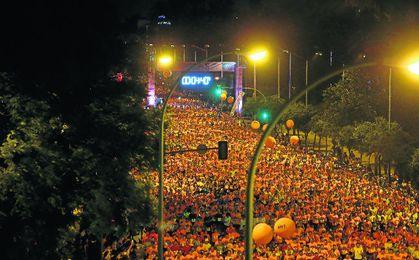 La cita congregó a más de 25.000 corredores.
