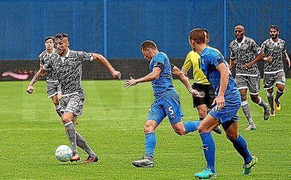 El Dinamo Zagreb no pasó del empate a cero ante el Hadjuk Split.
