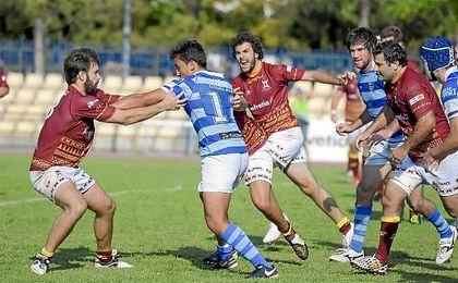 El Helvetia Rugby cuajó ayer un partido para olvidar en las instalaciones de San Pablo.