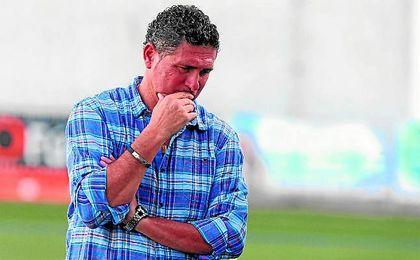 Alonso Ram�rez, t�cnico del Alcal�.