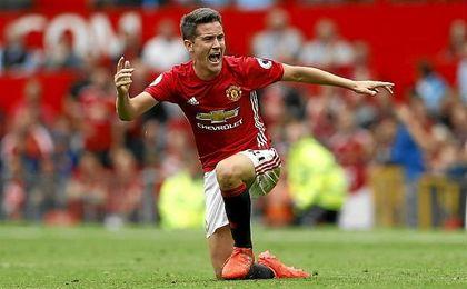 Ander Herrera vuelve a la selecci�n nacional gracias a su gran nivel con el Manchester United.