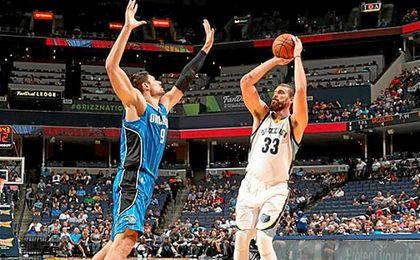 Marc Gasol reaparece en la NBA tras ocho meses lesionado.