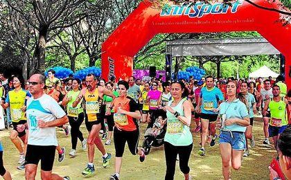 Imagen correspondiente a la pasada edición de la Carrera Popular Parque de Miraflores.