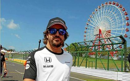 Fernando Alonso se mostró satisfecho con la temporada en la previa del GP de Japón.